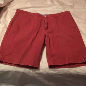 Quiksilver Red Shorts